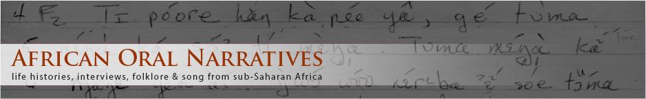 African Oral Narratives