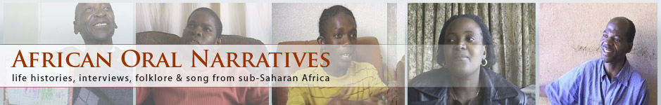 African Oral Narratives